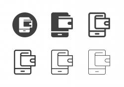 E-Wallet Icons - Multi Series
