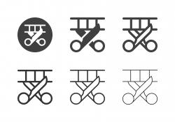 Film Cutting Icons - Multi Series