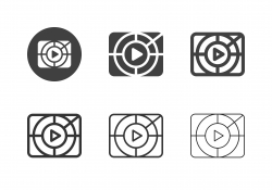 Movie Screening Icons - Multi Series