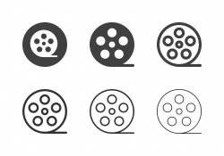 Film Reel Icons - Multi Series
