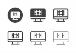 Film and Television Studio Icons - Multi Series