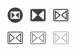 Horizontal Flipping Icons - Multi Series