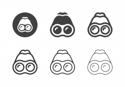 Binoculars Icons - Multi Series