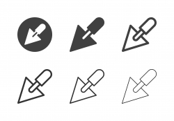 Trowel Icons - Multi Series