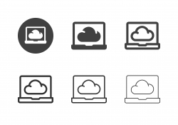 Cloud Service Icons - Multi Series