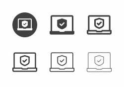 Security System Icons - Multi Series