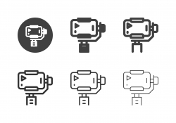 Mobile Gimbal Stabilizer Icons - Multi Series
