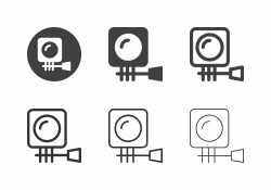 Action Camera Icons - Multi Series