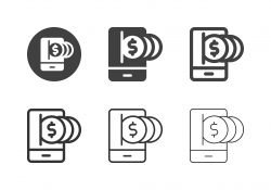 Digital Money Icons - Multi Series