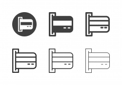 Credit Card Icons - Multi Series