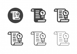 Certificate Icons - Multi Series