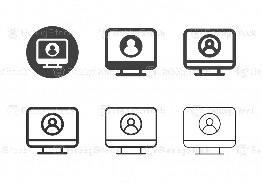 Profile View Icons - Multi Series