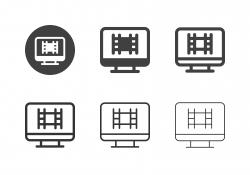 Film Studio Icons - Multi Series