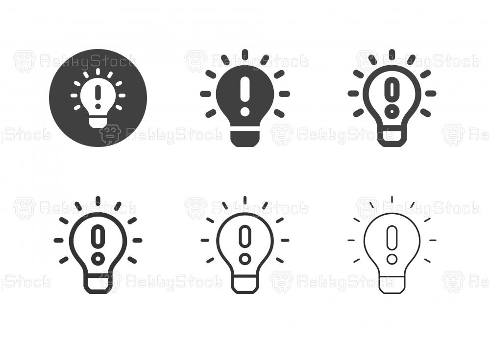 Concept Idea Icons - Multi Series