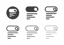 Search Form Icons - Multi Series