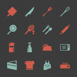 Cooking Icons - Color Series | EPS10
