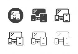 Portable Device Icons - Multi Series