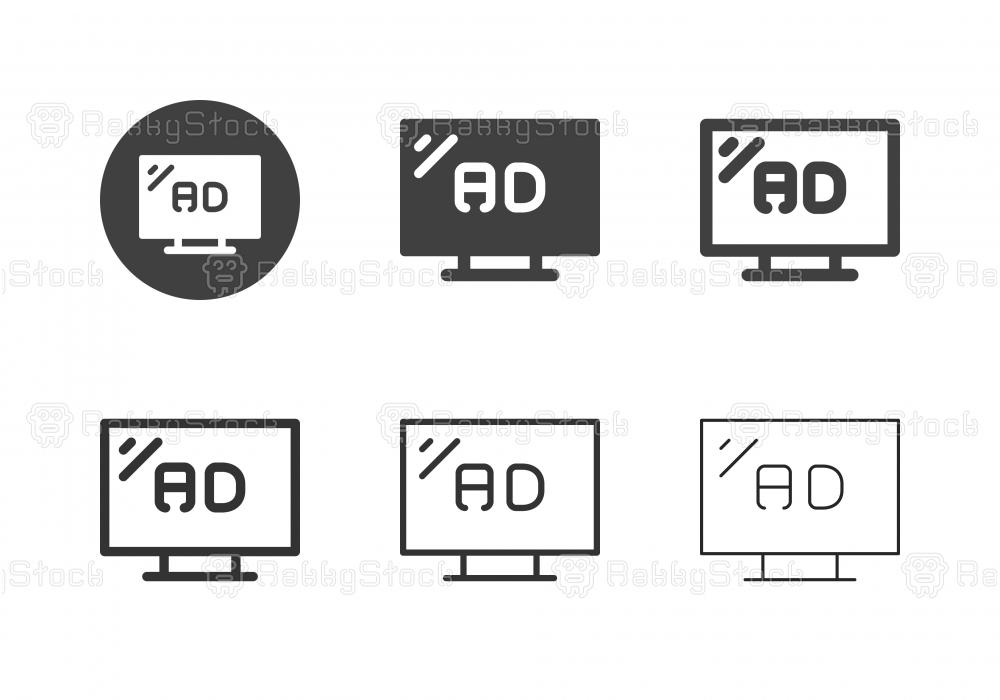 TV Ads Icons - Multi Series