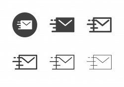 Fast Mail Icons - Multi Series