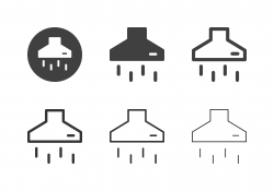 Cooker Hood Icons - Multi Series