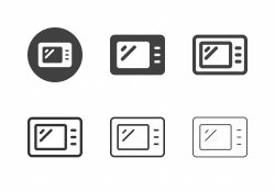 Microwave Icons - Multi Series