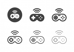 Game Controller Icons - Multi Series