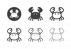 Crab Icons - Multi Series