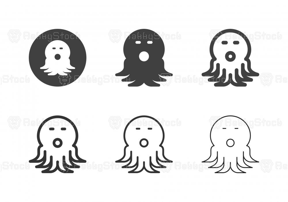 Octopus Icons - Multi Series