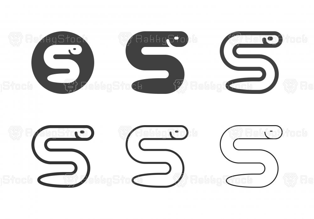Saltwater Eel Icons - Multi Series
