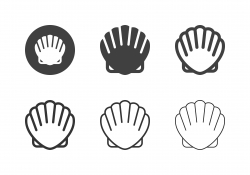 Scallop Icons - Multi Series