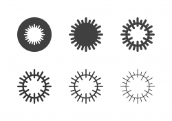 Sea Urchin Icons - Multi Series