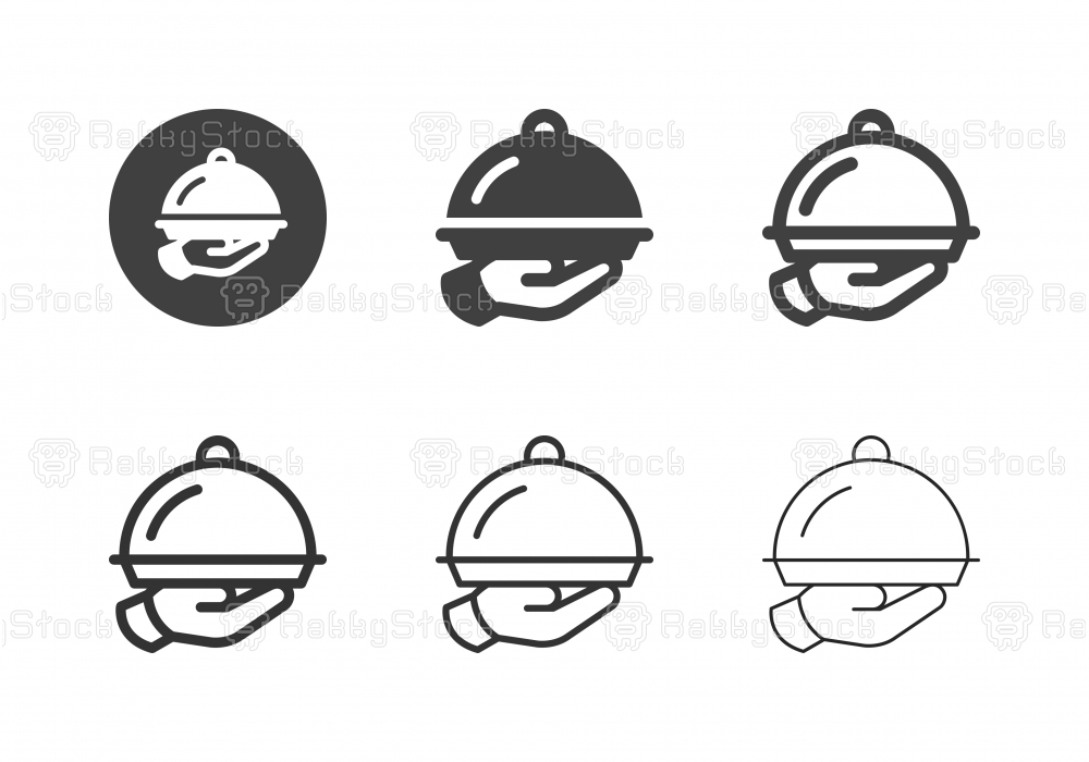 Domed Tray Icons - Multi Series