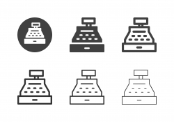 Cash Register Icons - Multi Series