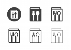 Food Menu Icons - Multi Series