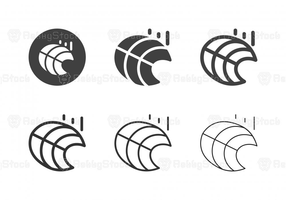 Salmon Steak Icons - Multi Series