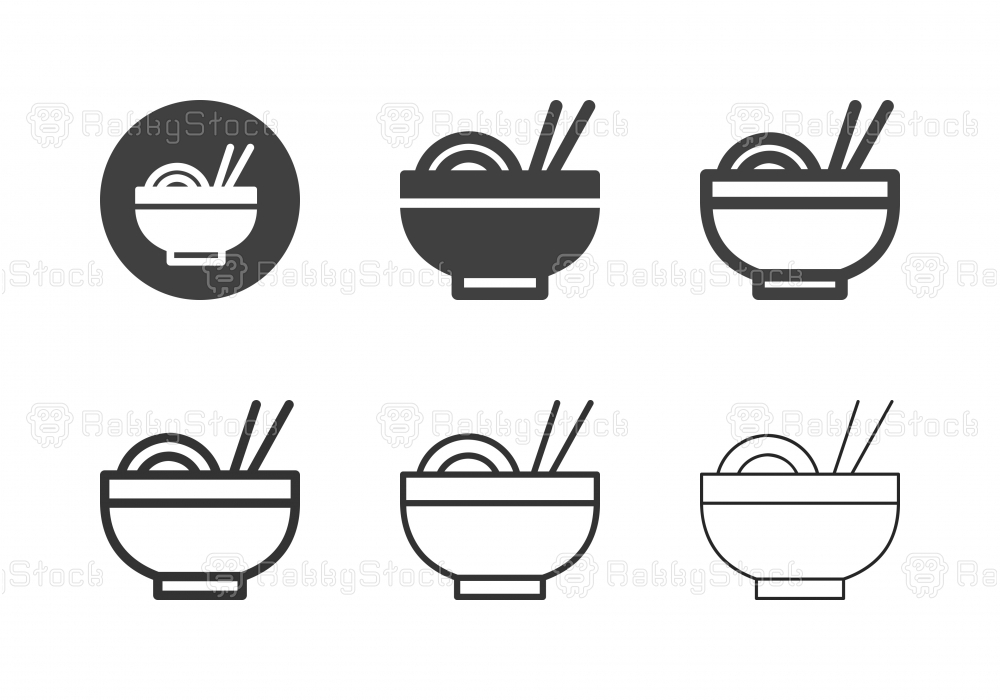 Noodle Icons - Multi Series