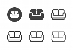 Sofa Icons - Multi Series