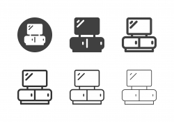 TV Shelf Icons - Multi Series