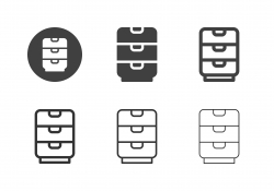 Drawer Icons - Multi Series