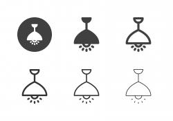 Ceiling Pendant Lamp Icons - Multi Series