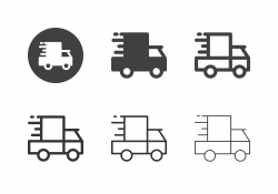 Delivery Van Icons - Multi Series