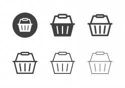 Shopping Basket Icons - Multi Series