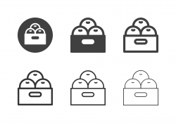 Oranges Icons - Multi Series