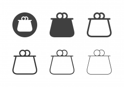 Coin Purse Icons - Multi Series