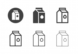 Milk Box Icons - Multi Series