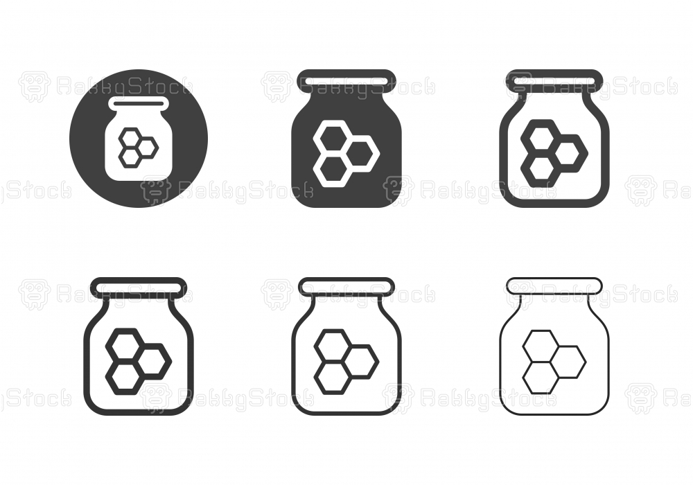 Honey Bee Icons - Multi Series