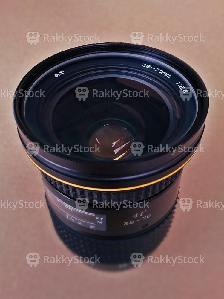 Old SLR Camera Lens