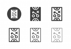 Sports Planning Icons - Multi Series