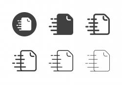 Express Document Icons - Multi Series