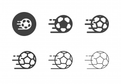 Speed Soccer Icons - Multi Series